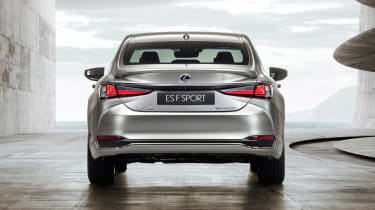Lexus ES F-Sport - full rear