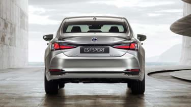 Lexus ES F-Sport - full rear