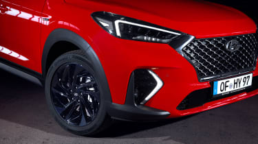 Hyundai Tucson N Line - up close front static