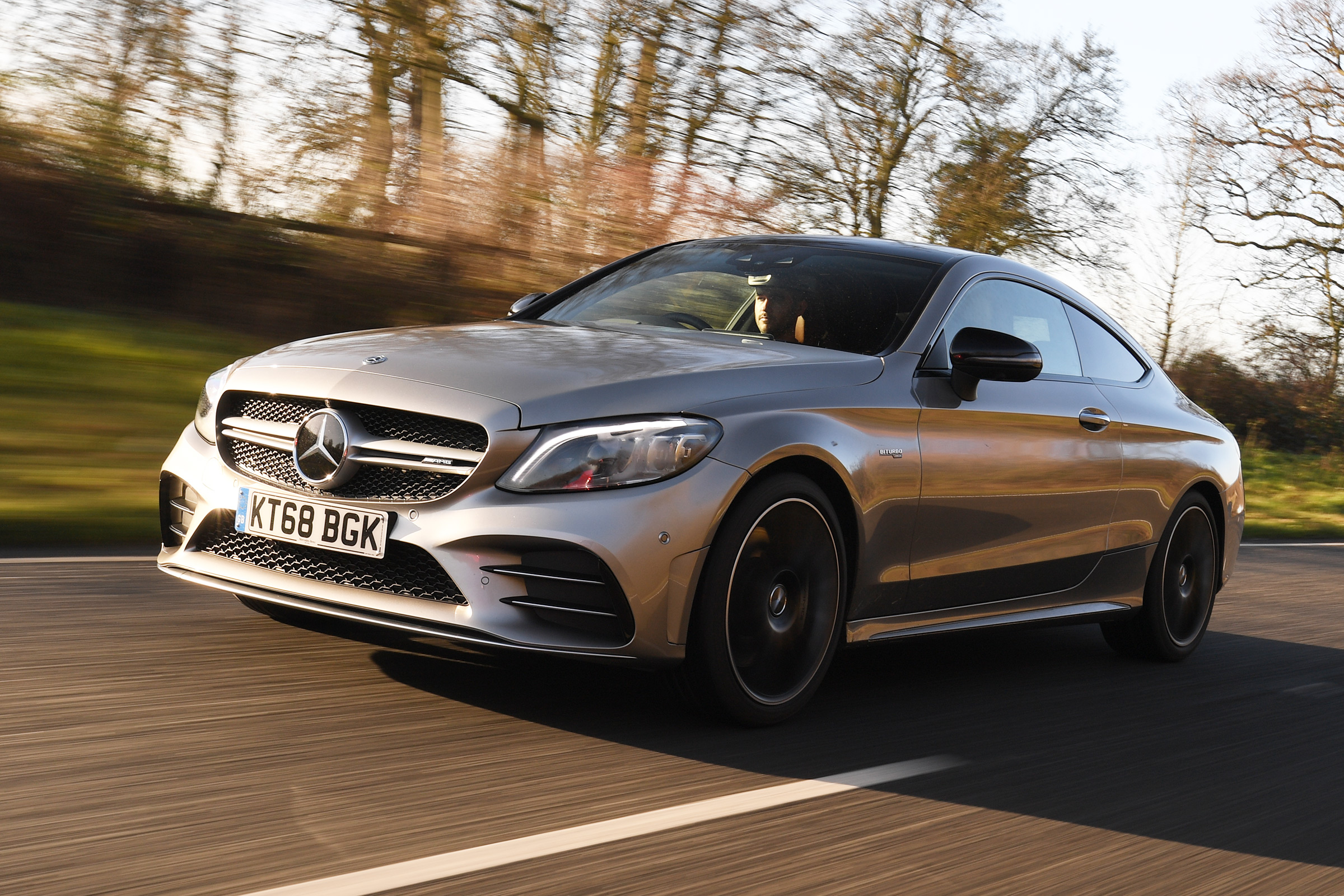 New Mercedes Amg C 43 Coupe 2019 Review Auto Express