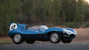 Jaguar D-Type - most expensive cars at auction