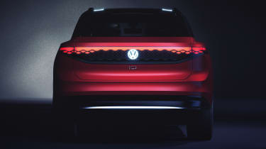 Volkswagen ID. Roomzz - full rear
