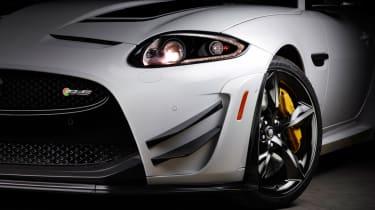 Jaguar XKR-S GT front detail
