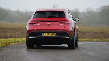 Mercedes EQC - long termer rear