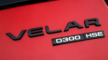Range Rover Velar - Velar badge