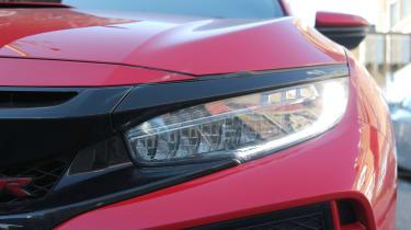 Honda Civic Type R GT - headlight