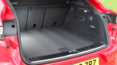 Porsche Cayenne Coupe GTS - boot