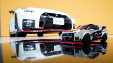 Nissan GT-R NISMO and Lego model