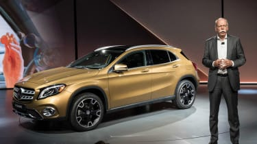 Mercedes GLA - show reveal