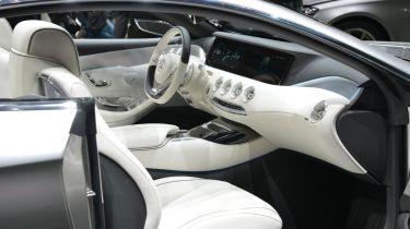 Mercedes S-Class Coupe interior
