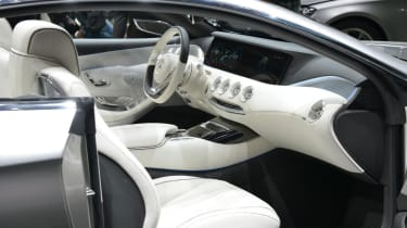 Mercedes S-Class Coupe interior