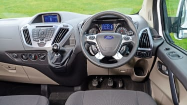 Ford Transit Custom Double-Cab - interior