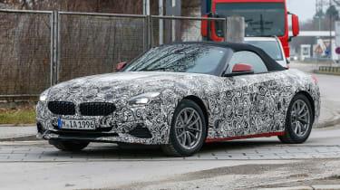 New BMW Z4 camoflauged