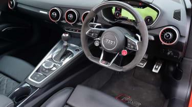 Audi TT RS - interior