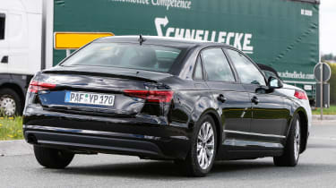 New Audi A4 2015 spy shots 10