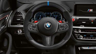 BMW X3 M with M Performance parts - interior