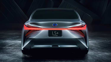 Lexus LS+ Concept - full rear