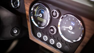Morgan Plus 8 50th Anniversary Edition - interior