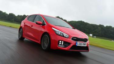Kia Cee'd GT - front
