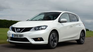 Nissan Pulsar - front tracking