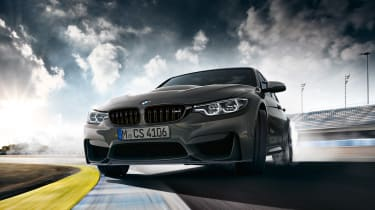 BMW M3 CS - front action