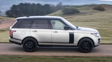 Used Range Rover - side