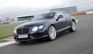 Bentley Continental V8 front tracking
