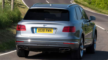 Bentley Bentayga V8 - Rear Cornering