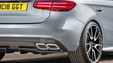 Mercedes-AMG A 45 - exclusive image rear detail