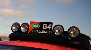 Land Rover Discovery Mk3 - lights