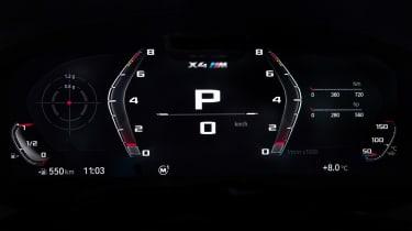 BMW X4 M - dials