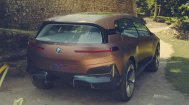 BMW Vision iNEXT concept - rear action
