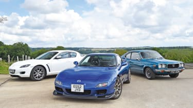 Best motoring features of 2017 - rotary engine