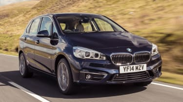 BMW 2 Series Active Tourer - front action