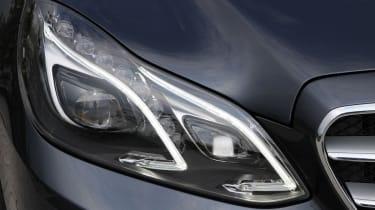 Mercedes E-Class headlight