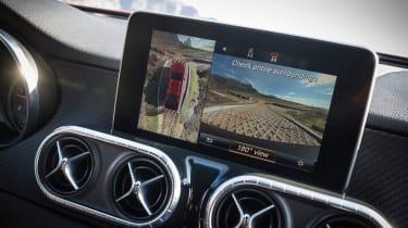 Mercedes X-Class pick-up truck - screen