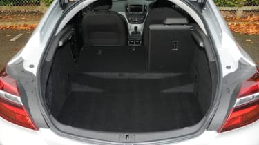 With a boot capacity of 530-litres, the Insignia is one of the most practical cars in its price bracket.