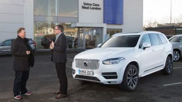 Volvo XC90 long term - first report header