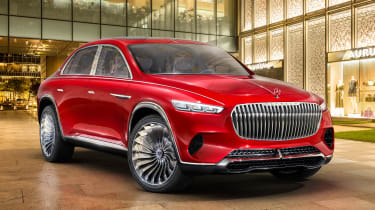 Vision Mercedes-Maybach SUV - front static