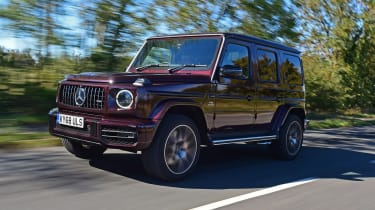 G 63 front tracking