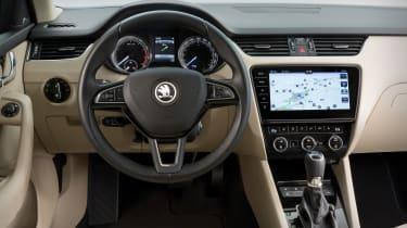 New 2017 Skoda Octavia facelift interior