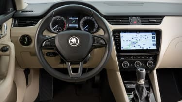 New 2017 Skoda Octavia facelift interior