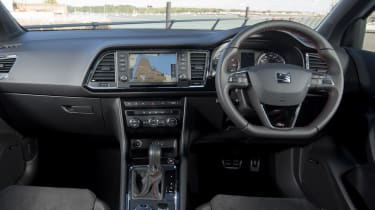 SEAT Ateca 2.0 TSI - dash
