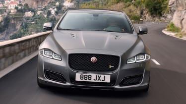 2017 Jaguar XJ facelift - front