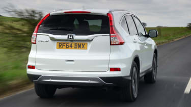 Honda CR-V - rear tracking