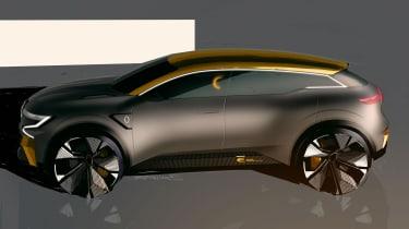 Renault Megane eVision - side static