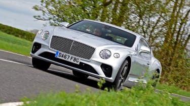 2018 Bentley Continental GT - front