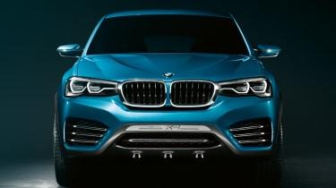 BMW Concept X4 front