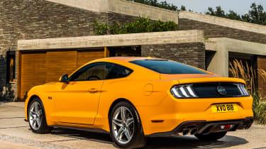 2018 Ford Mustang rear quarter
