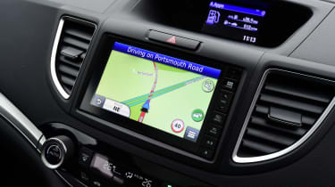Honda CR-V long-termer sat-nav